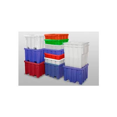 MODRoto Bulk Container With Lid P291 - 44x44x32-1/2, Royal Blue