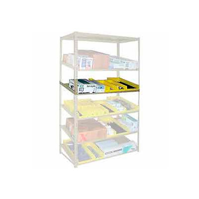 """Sloped Flow Shelving Additional Level 36""""W x 18""""D Tan"""