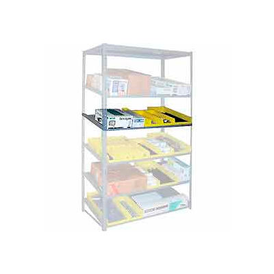 """Sloped Flow Shelving Additional Level 36""""W x 24""""D Gray"""