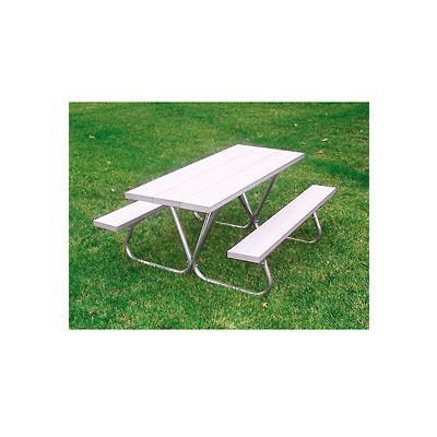 Portable Picnic Table 8' Aluminum