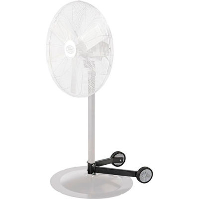 "Global Industrial™ Fan Dolly for Pedestal Fans for 1-1/2-2-1/4 Columns & 28"" and smaller bases"