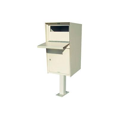 """Jayco Aluminum Standard Parcel Drop Box  8""""H Drop Slot Front White"""
