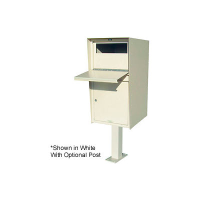 "Jayco Aluminum Standard Parcel Drop Box  8""H Drop Slot Front Gray"