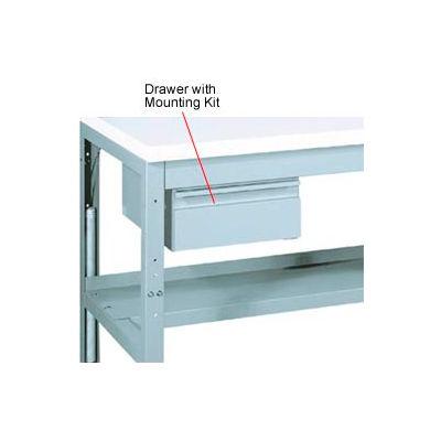 "Parent Metal Steel Drawer, 14""W x 20""D, Gray"