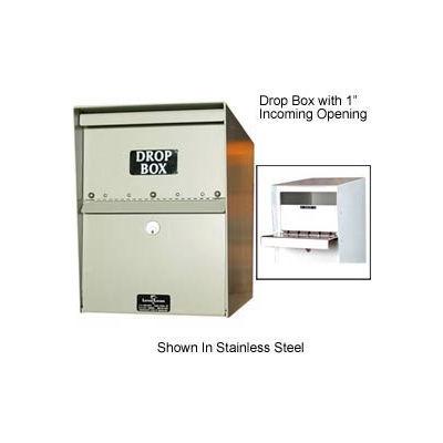 "Jayco Standard Drop Box Locker 2"" Incoming Slot No Envelope Slot Tan"