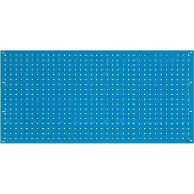 Steel Pegboard Panel 36 x 19 - Blue