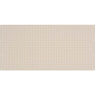 Steel Pegboard Panel 36 x 19 - Tan