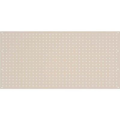 Global Industrial™ Steel Pegboard Panel 36 x 19 - Tan