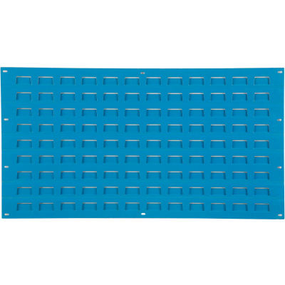 Global Industrial™ Steel Louver Panel 36 x 19 - Blue