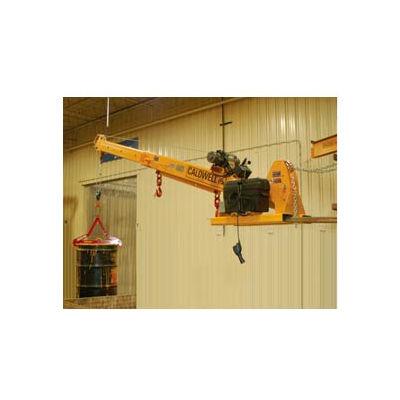 Caldwell PB-60-PLB Powered Telescopic and Pivoting Forklift Jib Boom Crane