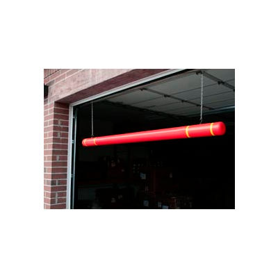 "120"" Clearance Bar - Red Bar/Yellow Tapes"