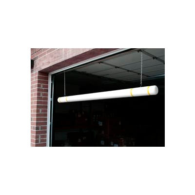 "120"" Clearance Bar - White Bar/Yellow Tapes"