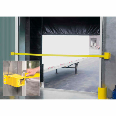 Retractable Dock Door Safety Strap