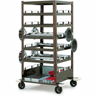 Tensator Safety Crowd Control Post Storage Cart