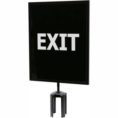 "Queueway Acrylic Sign - Exit 11X14"" (Double Side)"