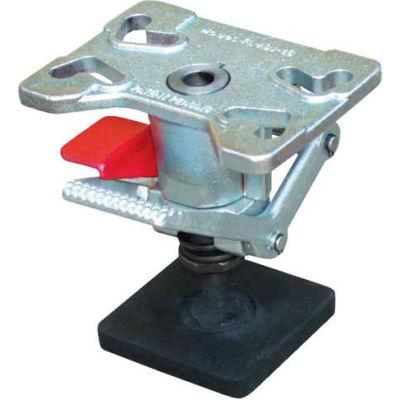 "Adjustable Height Steel Floor Lock FL-ADJ-46 for 4"", 5"" & 6"" Casters"