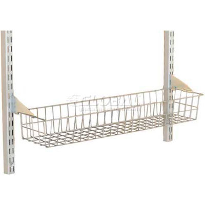"Storability 31"" Wire Basket With Lock On Brackets"