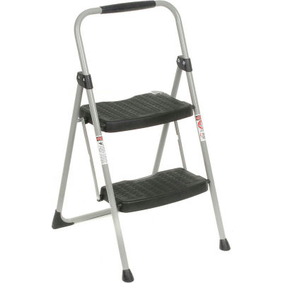 Werner 2 Step Steel Folding Step Ladder 225 lb. Cap  - 222-6