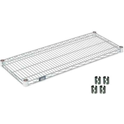 "Nexel® S1436C Chrome Wire Shelf 36""W x 14""D"