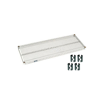 """Nexel® S2460C Chrome Wire Shelf 60""""W x 24""""D"""