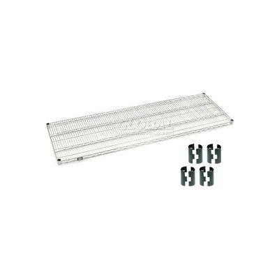 """Nexel® S2472C Chrome Wire Shelf 72""""W x 24""""D"""