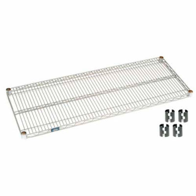 "Nexel® S3660C Chrome Wire Shelf 60""W x 36""D"