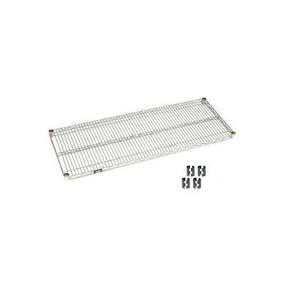 """Nexel® S1472C Chrome Wire Shelf 72""""W x 14""""D"""
