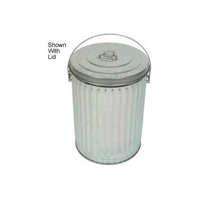 Galvanized Garbage Can - 10 Gallon Medium Duty - 10GPC