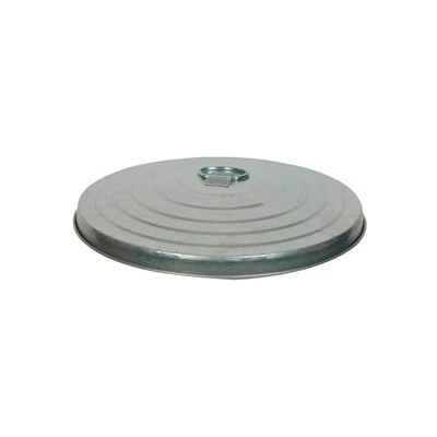 Galvanized Garbage Can Lid - 24 Gallon Commercial Duty - WCD24L