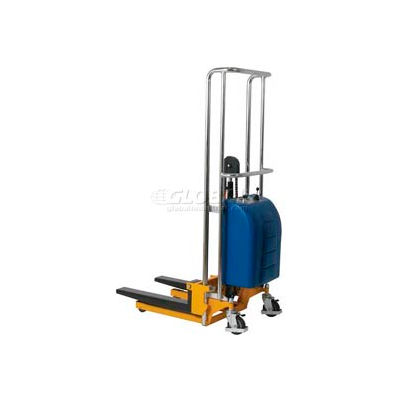 """Wesco® Value Lift Powered Stacker 273204 880 Lb. Cap. 59"""" Lift"""