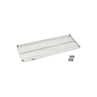 """Nexel® S1872S Stainless Steel Wire Shelf 72""""W x 18""""D"""