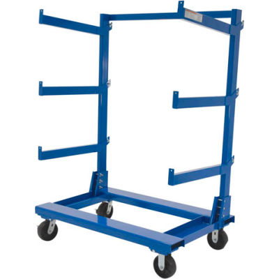 "Portable Cantilever Rack Cart CANT-3648 48""L x 36""W"