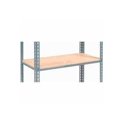 "Global Industrial™ Additional Shelf Level Boltless Wood Deck 48""W x 24""L - Gray"
