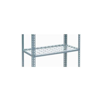 """Global Industrial™ Additional Shelf Level Boltless Wire Deck 48""""W x 18""""L - Gray"""