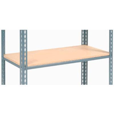 "Global Industrial™ Additional Shelf Level Boltless Wood Deck 48""W x 24""D - Gray"