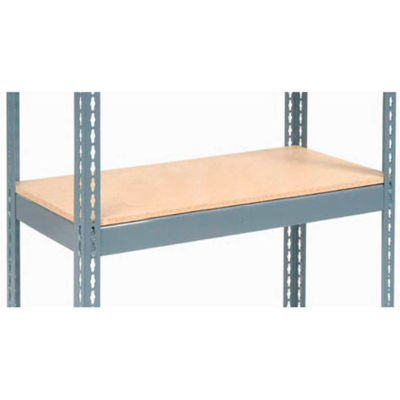 "Global Industrial™ Additional Shelf Level Boltless Wood Deck 36""W x 18""D - Gray"