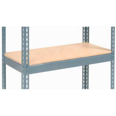 "Global Industrial™ Additional Shelf Level Boltless Wood Deck 48""W x 18""D - Gray"