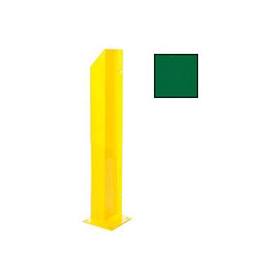 "Heavy Duty Door Track Protector 24"" Right Green"
