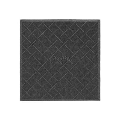 "Enviro Plus Diamond Weave Entrance Mat 3/8"" Thick 4' x 10' Gray"