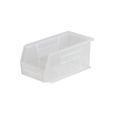 "Akro-Mils AkroBin® Plastic Stacking Bin 30234SCLAR - 5-1/2""W x 14-3/4""D x 5""H Clear - Pkg Qty 12"