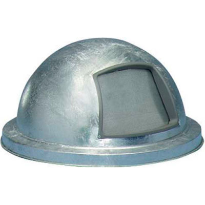 Galvanized Dome Top for Mesh Trash Container - 5555-G