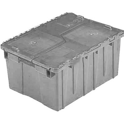 ORBIS Flipak® Distribution Container FP143 - 21-7/8 x 15-3/16 x 9-15/16 Gray