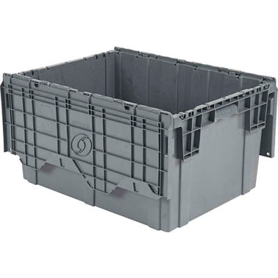 ORBIS Flipak® Distribution Container FP403 - 27-7/8 x 20-5/8 x 15-5/16 Gray