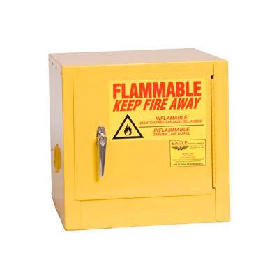 Eagle Compact Flammable Cabinet - Self Close Door 2 Gallon