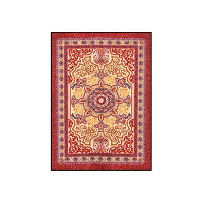 "NoTrax® Orientrax™ Entrance Rug, 3/8"" Thick, 3' x 5' , Burgundy"
