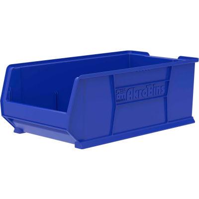 """Akro-Mils Super-Size AkroBin® 30293 - Stacking Bin 16-1/2""""W x 29-7/8""""D x 11""""H Blue"""