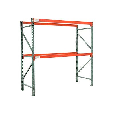 "Global Industrial™ Tear Drop Pallet Rack Starter 48""W X 36""D X 96""H"