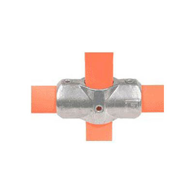 """Kee Safety - L26- 9 - Aluminum Two Socket Cross, 2"""" Dia."""