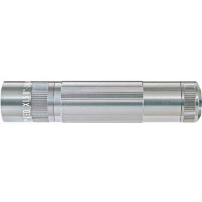 Maglite® XL50-S3107 XL50™ 3 Cell AAA LED Flashlight Silver