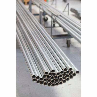 "Kee Safety - Galvanized Gatorshield® Pipe (7 ft x 5 Pcs) Price Per Foot - 1-1/2"" Dia. - Pkg Qty 35"